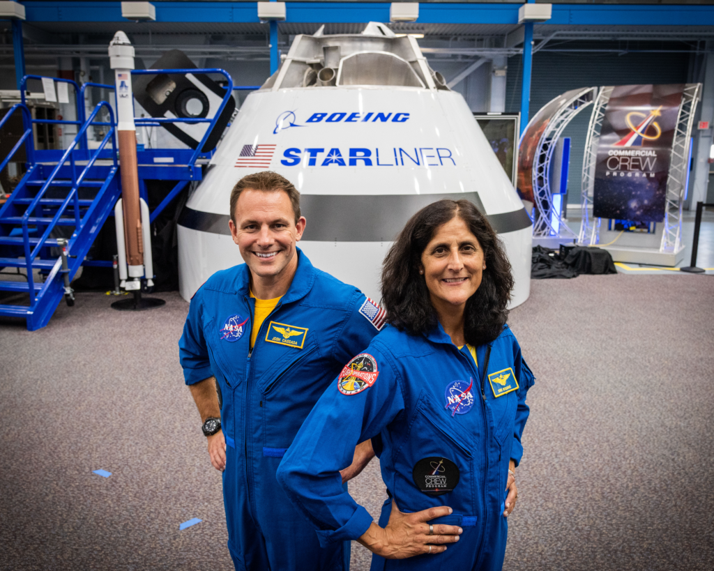 sunita williams profile