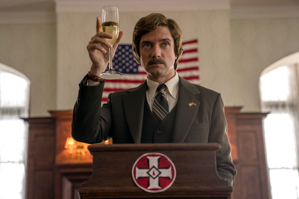 "Topher Grace as David Duke in ""BlacKkKlansman."" (Courtesy Focus Features)"