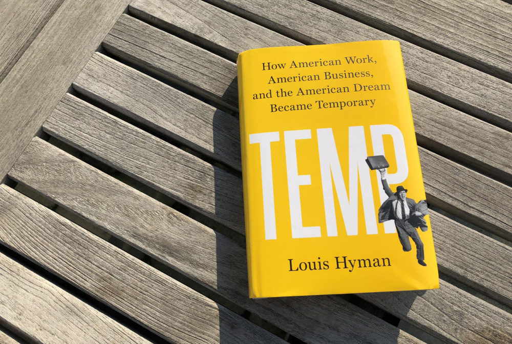 """Temp"" by Louis Hyman. (Alex Schroeder/On Point)"