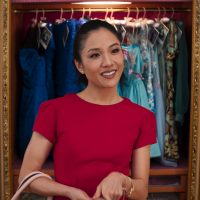 "This image released by Warner Bros. Entertainment shows Constance Wu in a scene from ""Crazy Rich Asians."" (Warner Bros. Entertainment via AP)"