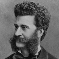 """Johann Strauss, seen here circa 1868, wrote what is probably the most famous waltz of all time: """"The Blue Danube."""" (Hulton Archive/Getty Images)"""