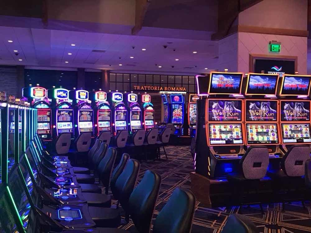 The games floor at the Tiverton Casino and Hotel is seen ahead of the casino's ribbon-cutting on Aug. 31. (Tiverton Casino Hotel)