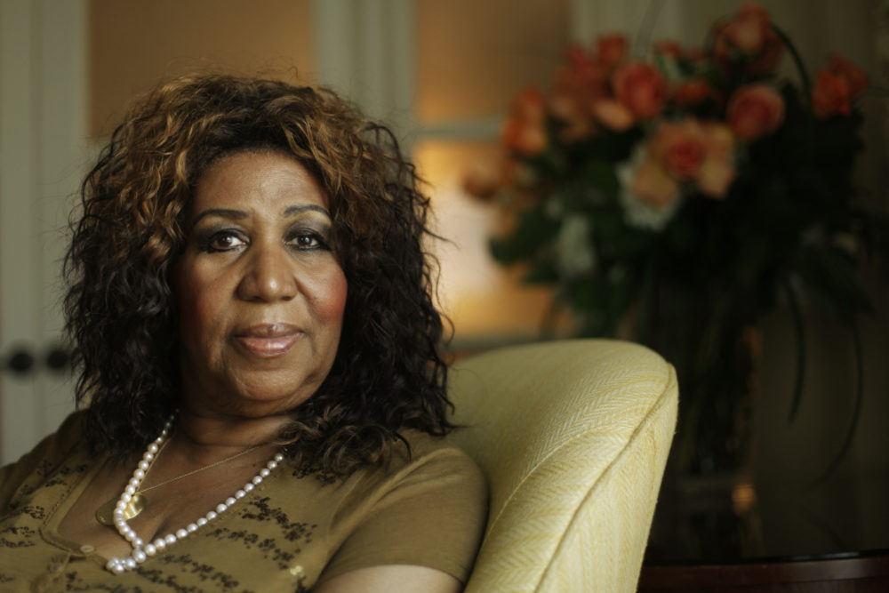 FILE - In this July 26, 2010 file photo, Aretha Franklin is shown in Philadelphia. (Matt Rourke/AP)