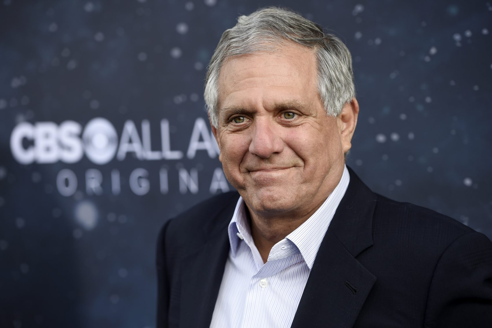 """In this Sept. 19, 2017, file photo, Les Moonves, chairman and CEO of CBS Corporation, poses at the premiere of the new television series """"Star Trek: Discovery"""" in Los Angeles. (Chris Pizzello/Invision/AP)"""