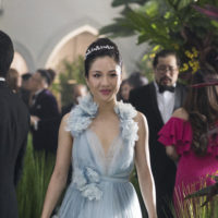 "This image released by Warner Bros. Entertainment shows Constance Wu in a scene from the film ""Crazy Rich Asians."" (Sanja Bucko/Warner Bros. Entertainment via AP)"