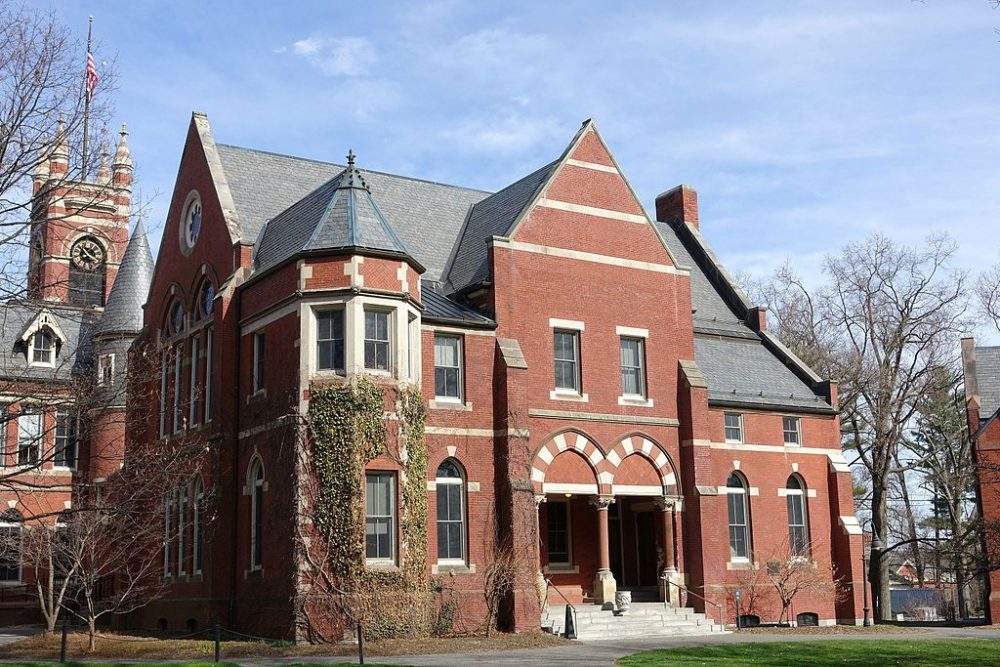 College Hall at Smith College in Northampton. (Creative Commons)