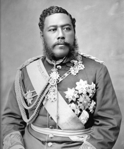 King David Kalakaua (James J. Williams/Hawaii State Archives)