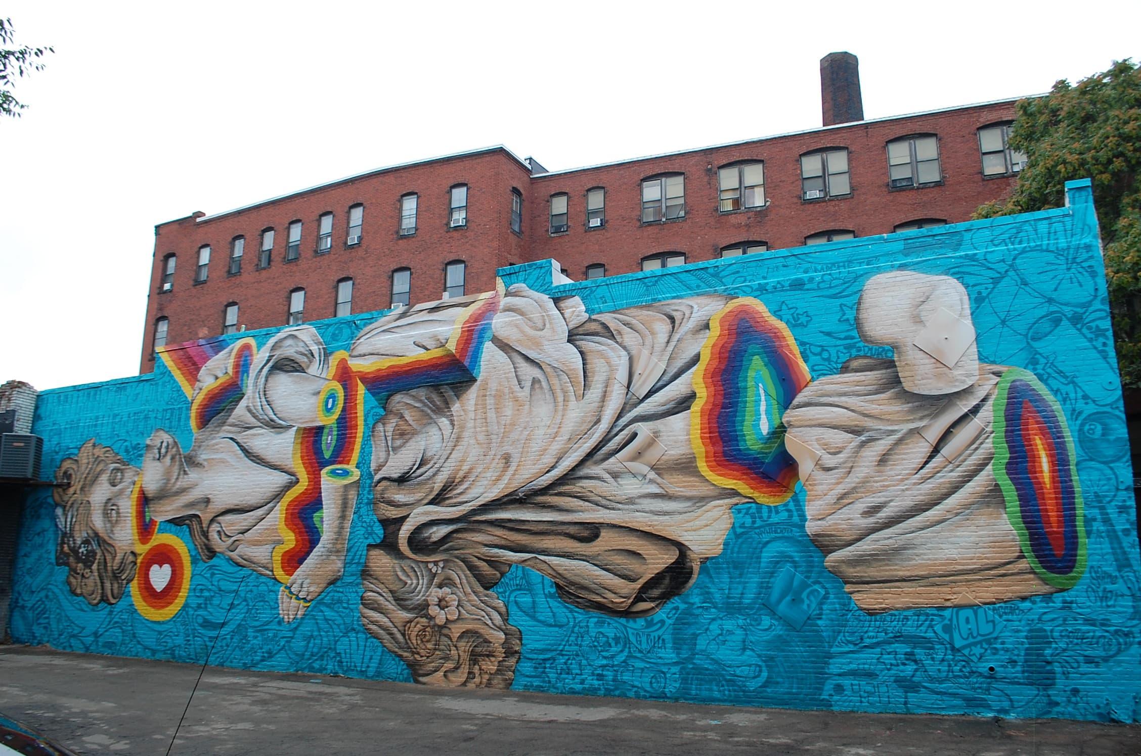 Our Favorite Street Art From Lynn's Beyond Walls Mural