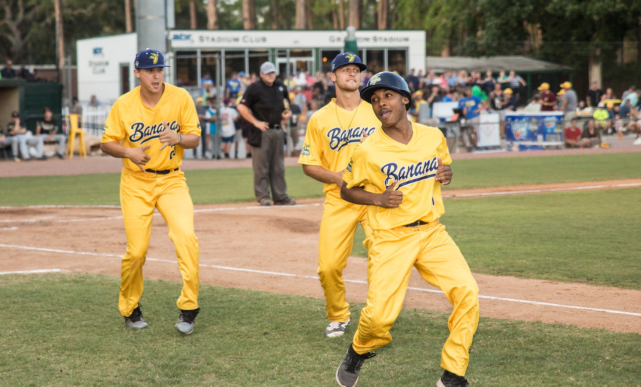 The Savannah Bananas aren't your average baseball team. (Courtesy Jesse Cole)