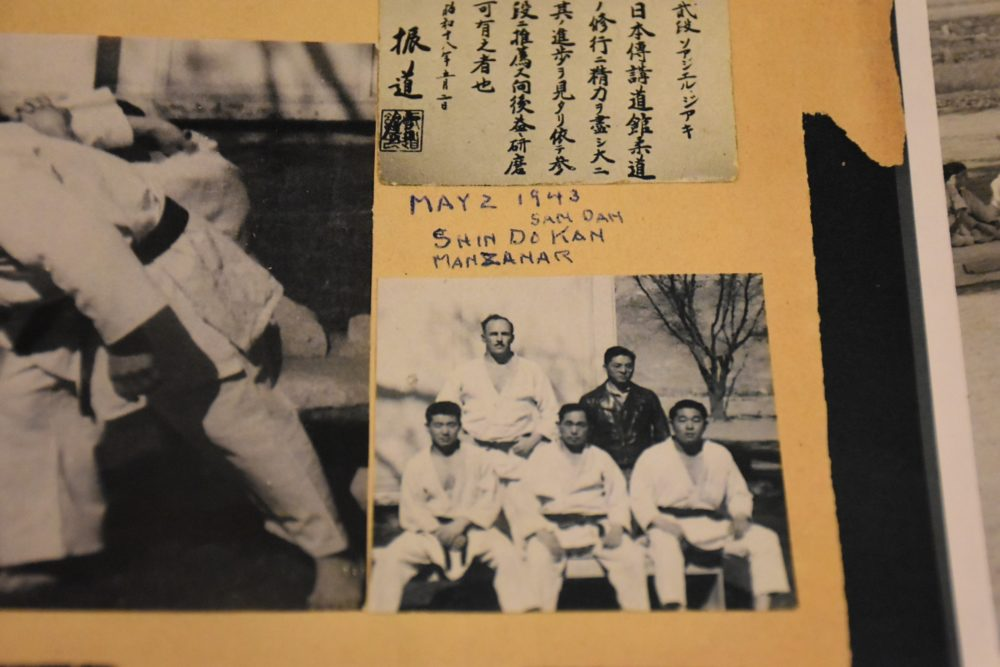 Jack Sergel (back row, left) received criticism for bringing LA kids to a Japanese internment camp for judo tournaments during World War II. (Courtesy NPS/Roy Murakami Collection)