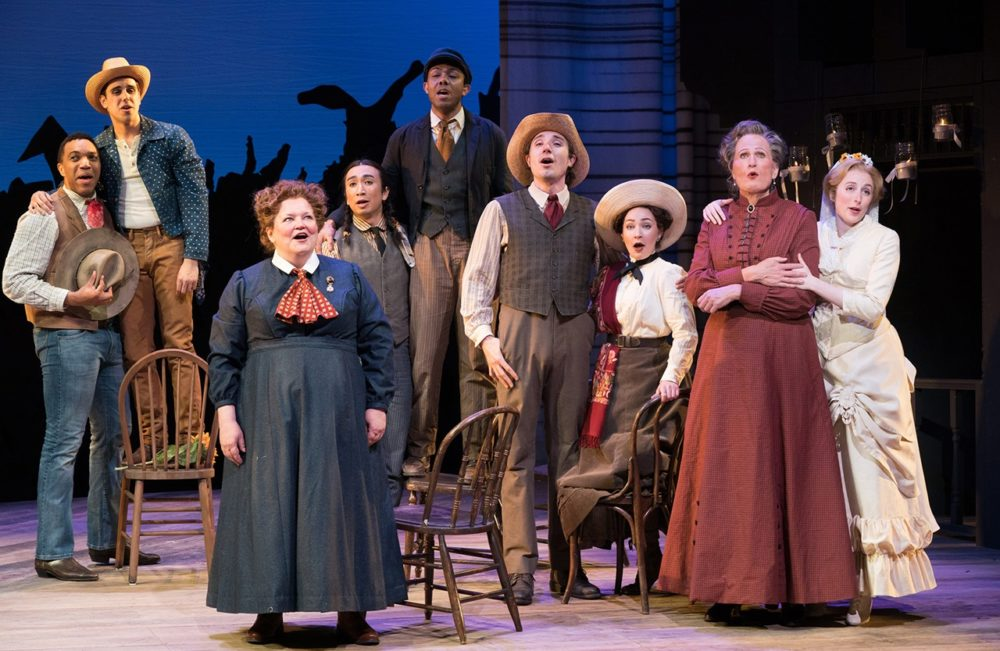 "The ensemble of ""Oklahoma!"" (Courtesy Jenny Graham)"