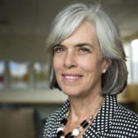 Rep. Katherine Clark at WBUR. (Robin Lubbock/WBUR)