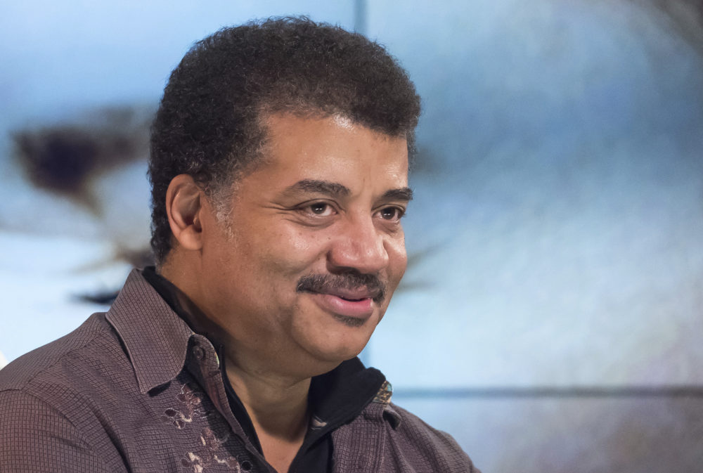 Neil deGrasse Tyson in New York in 2017. (Charles Sykes/Invision/AP)