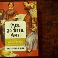 """""""Meg, Jo, Beth, Amy - The Story Of Little Women And Why It Still Matters,"""" by Anne Boyd Rioux. (Robin Lubbock/WBUR)"""