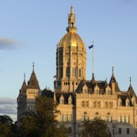 The Connecticut State Capitol building is seen in Hartford, Conn., Monday, Oct. 1, 2012. (Jessica Hill/AP)