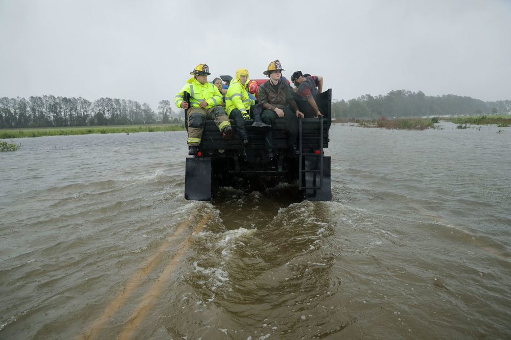 Official Describes Hurricane Florence Rescue Efforts In