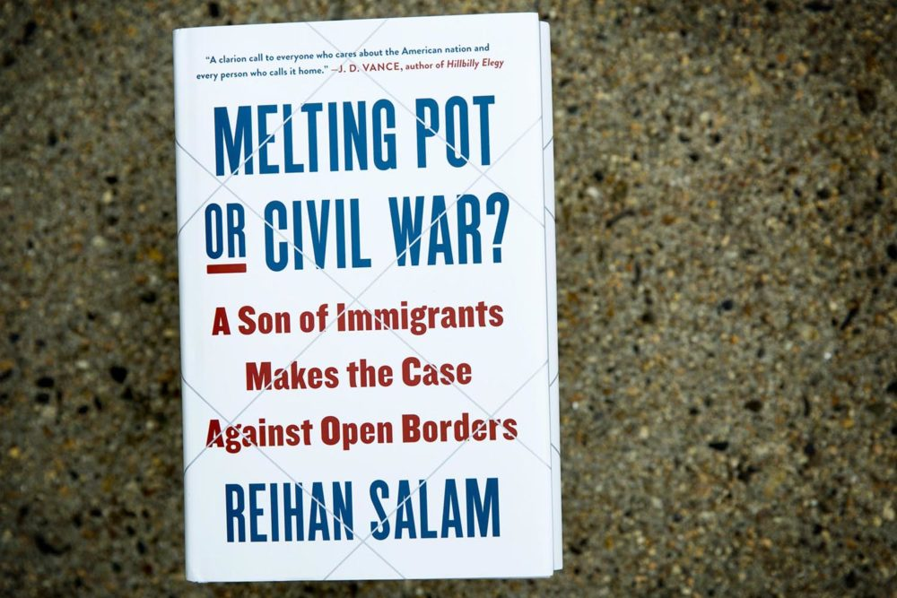 Melting Pot or Civil War? by Reihan Salam. (Robin Lubbock/WBUR)