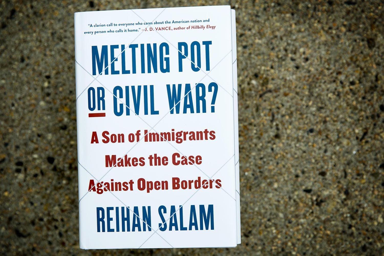 Melting Pot or Civil War? by Reihan Salam. (Robin Lubbock/WBUR)