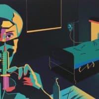 """""""Hospital Room"""" by Helene Hildebrandt. (https://www.instagram.com/helenehildebrandt___)"""