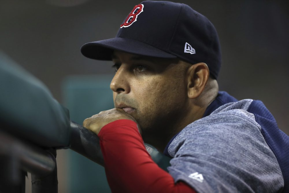 Boston Red Sox manager Alex Cora (Carlos Osorio/AP)