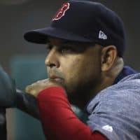Boston Red Sox manager Alex Cora (Carlos Osorio/AP)