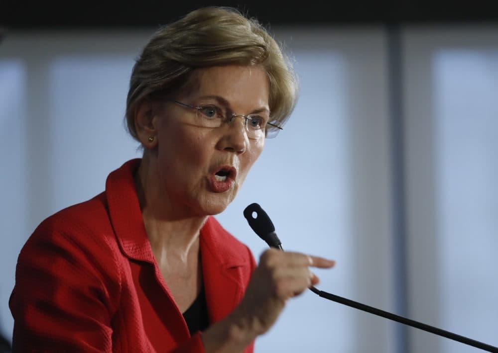 Sen. Elizabeth Warren (Pablo Martinez Monsivais/AP)