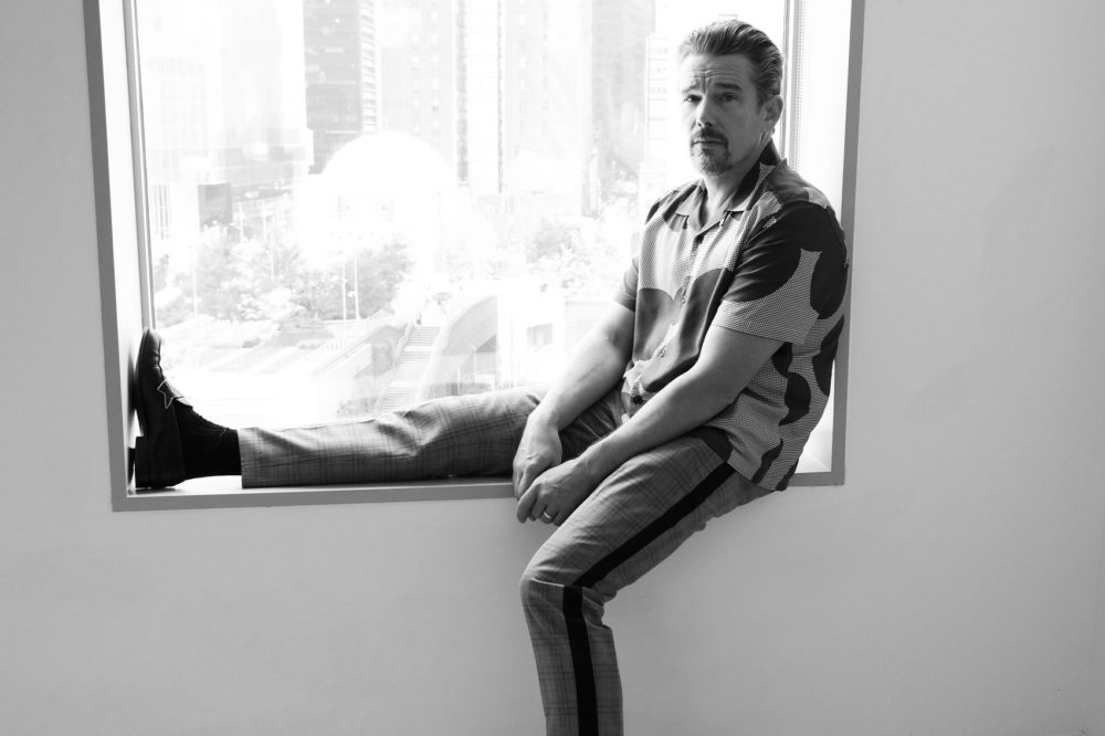 Actor-Writer-Director Ethan Hawke, In What Might Be His ...