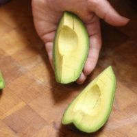 """To manage her seizures, 9-year-old Gloria Johnson uses the ketogenic diet, which she says includes """"lots of avocados."""" (Matthew Mead/AP)"""