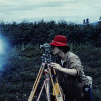 Janis Stoner worked as a surveyor in Alaska for a total of six years. (Courtesy Janis Stoner)