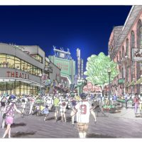 Rendering of the planned Boston Theater (Courtesy Boston Sports Group)