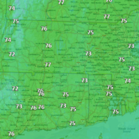 Highs today will be much cooler than yesterday. (Dave Epstein/WBUR)