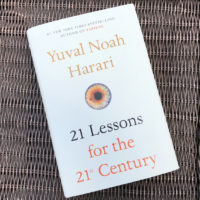"""21 Lessons for the 21st Century,"" by Yuval Noah Harari. (Alex Schroeder/On Point)"
