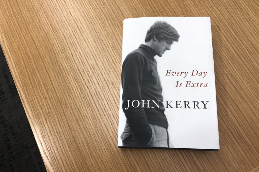 """""""Every Day is Extra"""" by John Kerry. (Alex Schroeder/On Point)"""