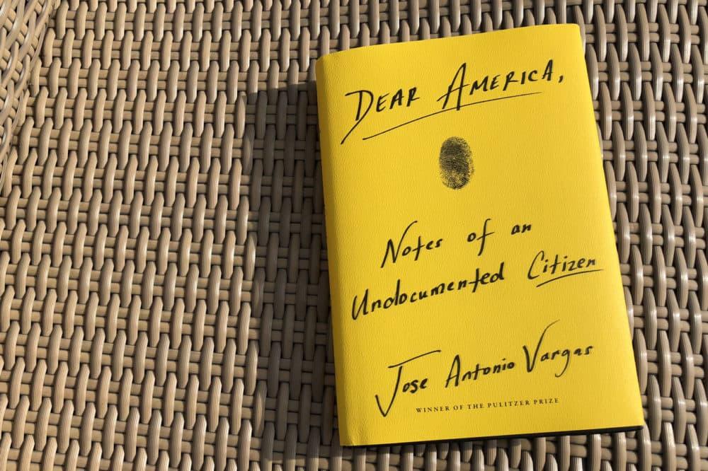 """""""Dear America,"""" by Jose Antonio Vargas. (Alex Schroeder/On Point)"""