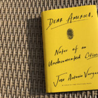 """Dear America,"" by Jose Antonio Vargas. (Alex Schroeder/On Point)"