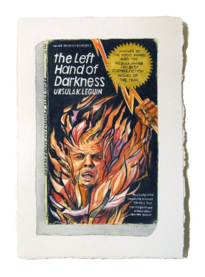 "Tuesday Smillie is inspired by Ursula K Leguin's science fiction book ""The Left Hand of Darkness."" (Courtesy)"