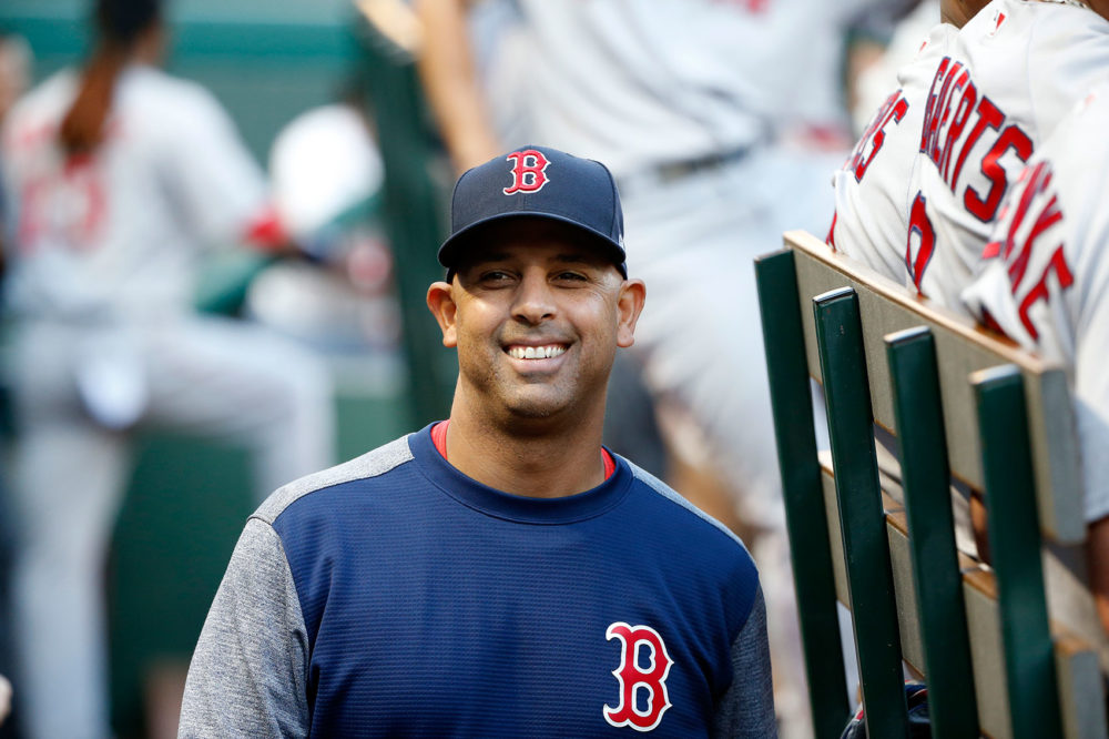 Boston Red Sox manager Alex Cora (Michael Ainsworth/AP)