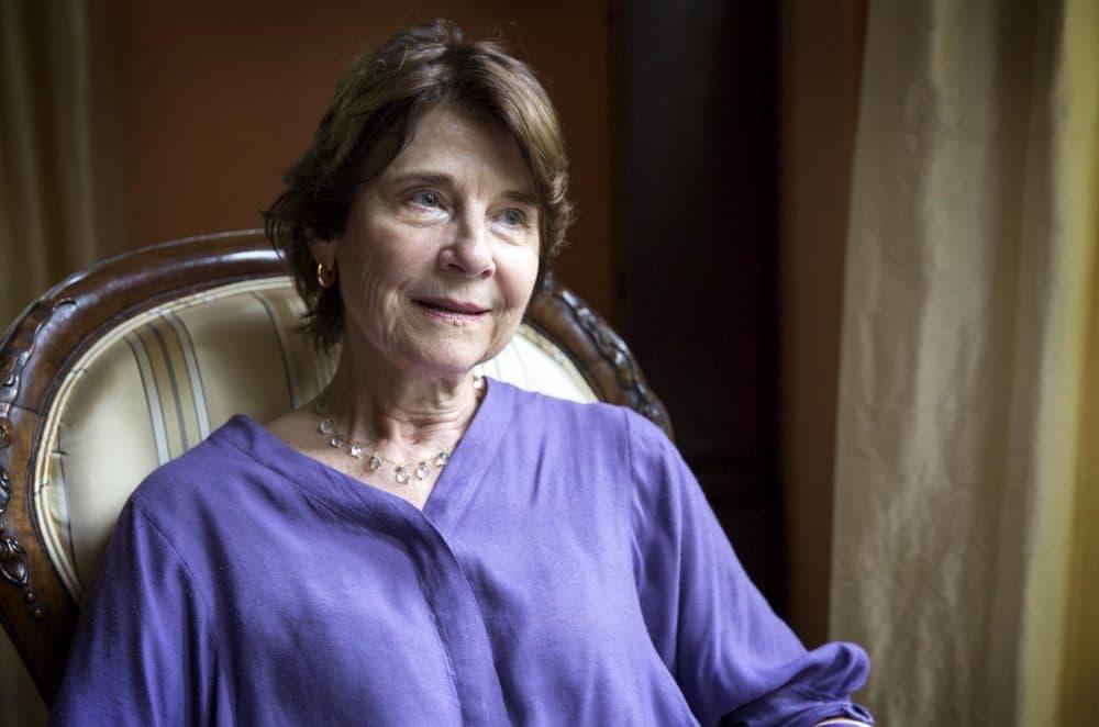 Anne Hawley, former director of the Isabella Stewart Gardner Museum. (Robin Lubbock/WBUR)