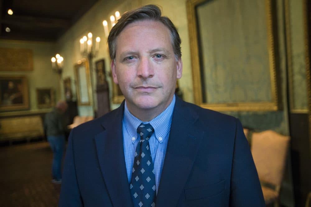 Gardner Museum security director Anthony Amore. (Jesse Costa/WBUR)