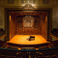 Jordan Hall at the New England Conservatory of Music (Courtesy)