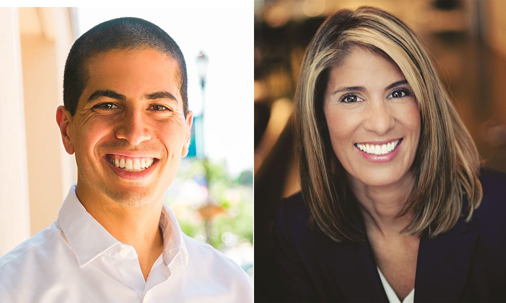 Daniel Koh and Lori Trahan (Courtesy of the campaigns)