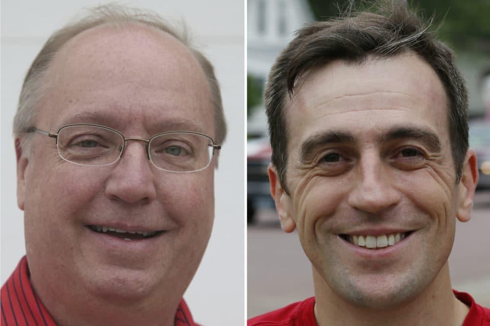 Minnesota 1st District congressional candidate Jim Hagedorn (left), a Republican, and Democratic candidate Dan Feehan. (AP Photos)