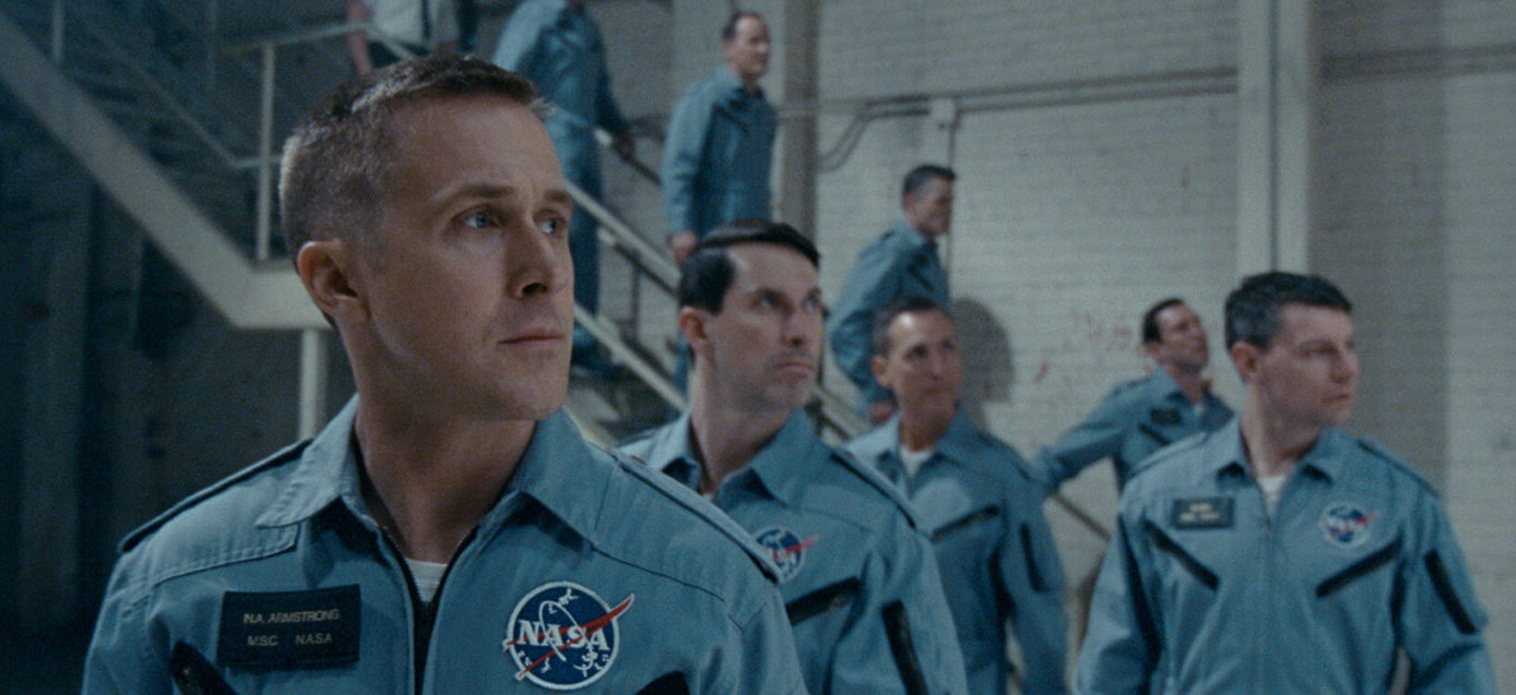 "Ryan Gosling in ""First Man."" (Courtesy Universal)"