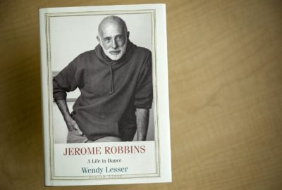 """""""Jerome Robbins: A Life In Dance,"""" by Wendy Lesser. (Robin Lubbock/WBUR)"""