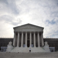 The Supreme Court in Washington in 2012. (Evan Vucci/AP)