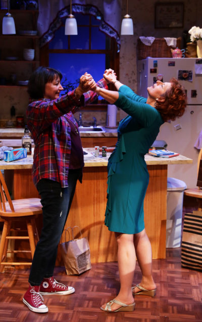 "Paula Plum and Adrianne Krstansky in ""The Roommate."" (Courtesy Mark S. Howard/Lyric Stage Company)"