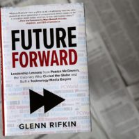 """Future Forward,"" by Glenn Rifkin. (Robin Lubbock/WBUR)"
