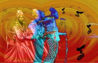 "AAMARP artist Gloretta Baynes' ""Nina 813"" (Courtesy)"