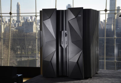 IBM unveiled its new z13 mainframe on Jan. 13, 2015. (Augusto Menezes/Feature Photo Service for IBM)