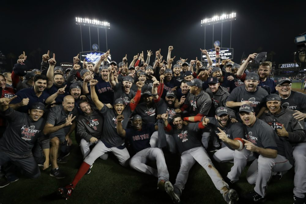 watch 1df96 8d409 Celebrating A Champion Red Sox Team — Perhaps The Greatest ...